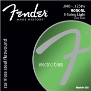 9050 Stainless Flatwound Bass Strings (5-String) -