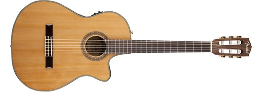 CN-240SCE Thinline Classical, Solid Top in