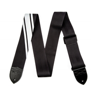 Fender® Competition Stripe Straps - Black and Silver
