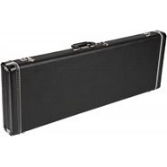 Multi-Fit Hardshell Cases- Jaguar®/Jazzmaster® in Black with Black Plush Interior