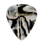 Fender® 351 Shape Graphic Picks (12 per pack) - Zebra