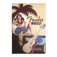 Fender™ Hula Girl Magnet -