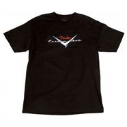 Fender® Custom Shop Original Logo T-Shirt Black