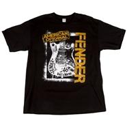 Fender® Spraypaint Graffiti T-Shirt - Black