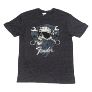 Fender® David Lozeau Mechanico T-Shirt - Black