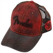 Fender® Washed Trucker Cap -