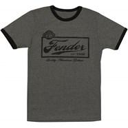 Fender® Beer Label Mens T-Shirt - Black