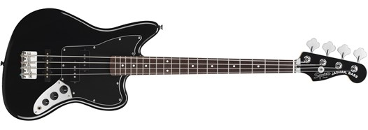 Vintage Modified Jaguar® Bass Special SS (Short Scale) in Black