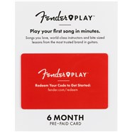 Fender Play Prepaid Gift Cards -