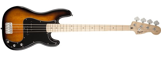 Stop Dreaming, Start Playing!™ Set: Affinity Series™ Precision Bass® with Fender® Rumble™ 15 Amp Brown Sunburst