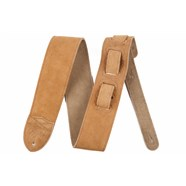 "Fender® ""F"" Suede Strap in Tan"