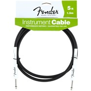 Fender® Performance Series Instrument Cables (Straight-Straight) in Black