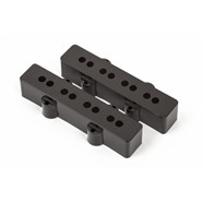 Pure Vintage Jazz Bass Plastic Pickup Cover Set -