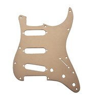 11-Hole Modern 1-Ply Anodized Stratocaster® S/S/S Pickguard -
