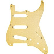 8-Hole '50s Vintage-Style Stratocaster® S/S/S Pickguards - Gold