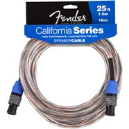 Fender® California Speaker Cables - (Speakon - Speakon) 16 AWG in Copper with Clear Sleeve