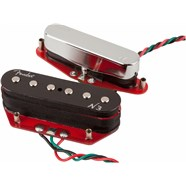 Fender N3 Noiseless™ Tele Pickups in Nickel