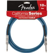 Fender® California Instrument Cables - Lake Placid Blue