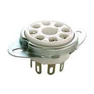 Pure Vintage Octal Tube 8-Pin Socket -