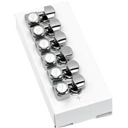 Locking Stratocaster®/Telecaster® Tuning Machines - Polished Chrome