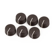 Pure Vintage Radio Amplifier Knobs - Dark Brown -