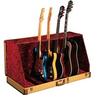 Fender® Guitar Case Stands (7 Guitar) in Tweed