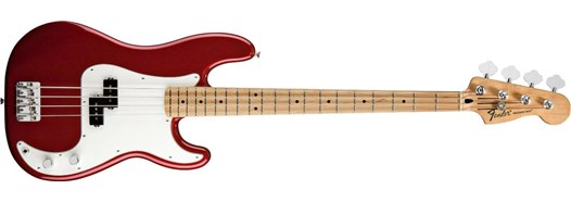 Standard Precision Bass® Candy Apple Red