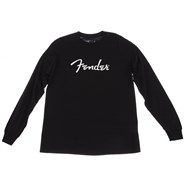 Fender® Long-Sleeve Logo T-Shirt - Black