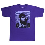 Fender® Jimi Hendrix Kiss the Sky T-Shirt Purple