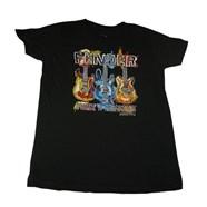 Fender® Preteen Paint T-Shirt - Black