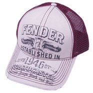 Fender® Strat® Trucker Hat - White