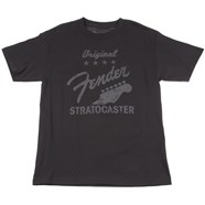 Fender® Original Strat® T-Shirt - Charcoal