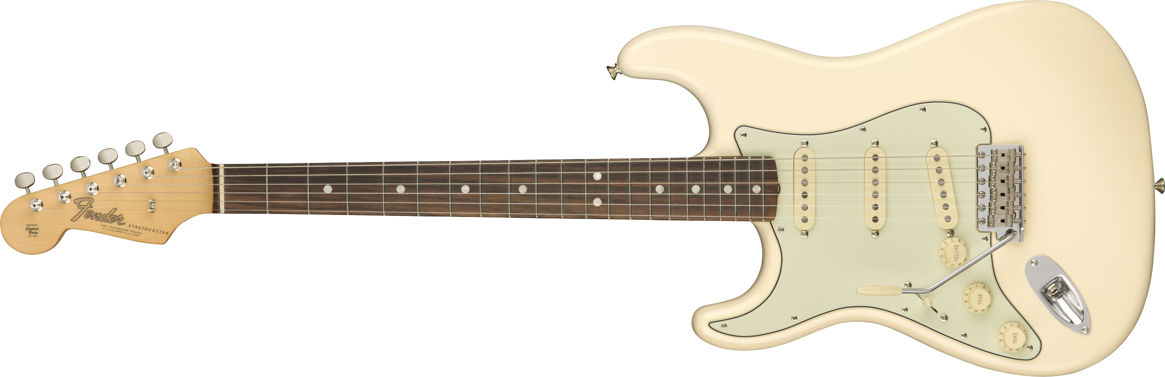 FENDER American Original 60s Stratocaster Left-Hand, Rosewood Fingerboard, Olympic White