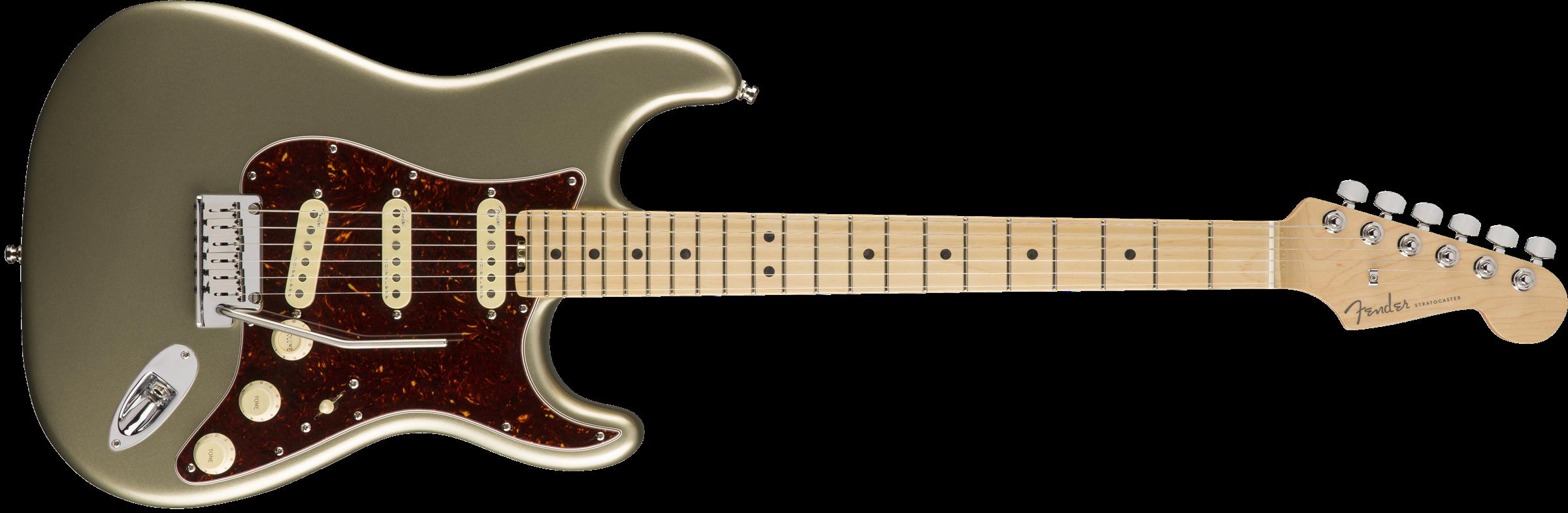 FENDER American Elite Stratocaster, Maple Fingerboard, Champagne