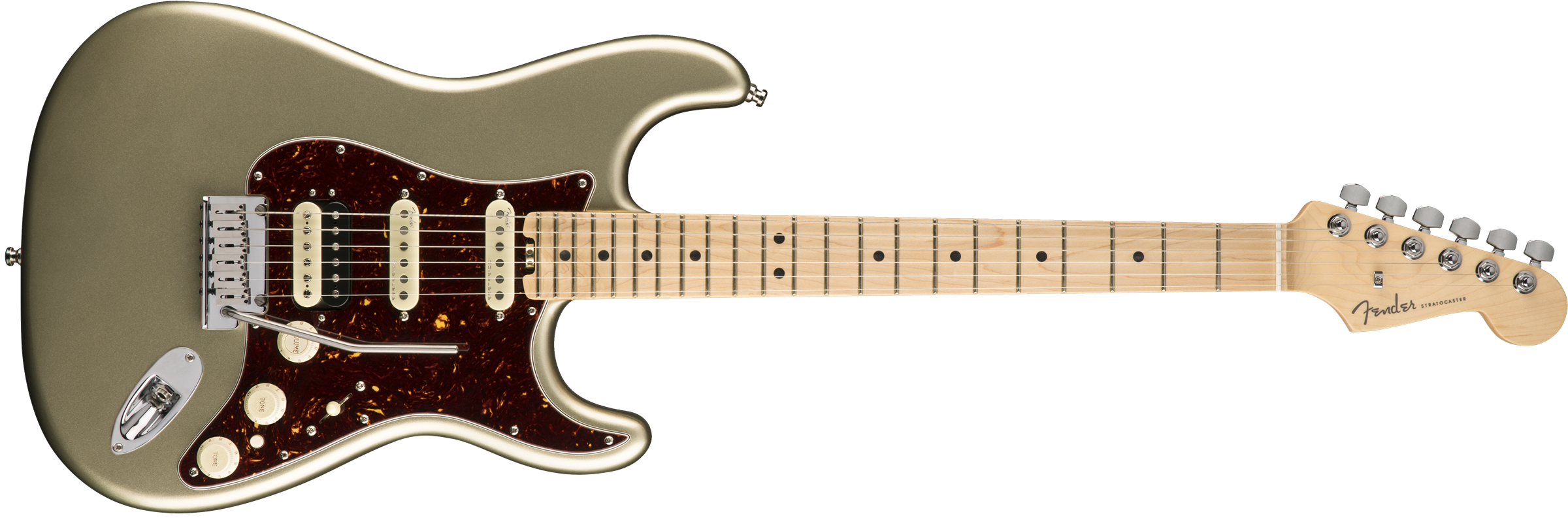 FENDER AM AMERICAN ELITE STRATO HSS SHAWBUCKER MN CHAMP - 0114112774