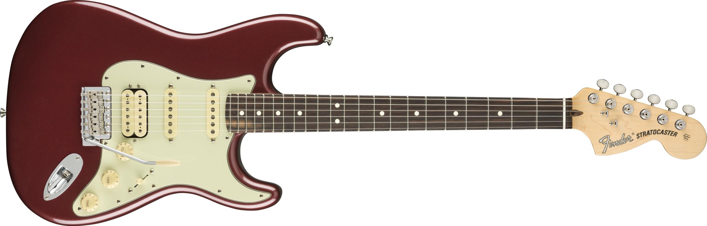 FENDER American Performer Stratocaster HSS, Rosewood Fingerboard, Aubergine