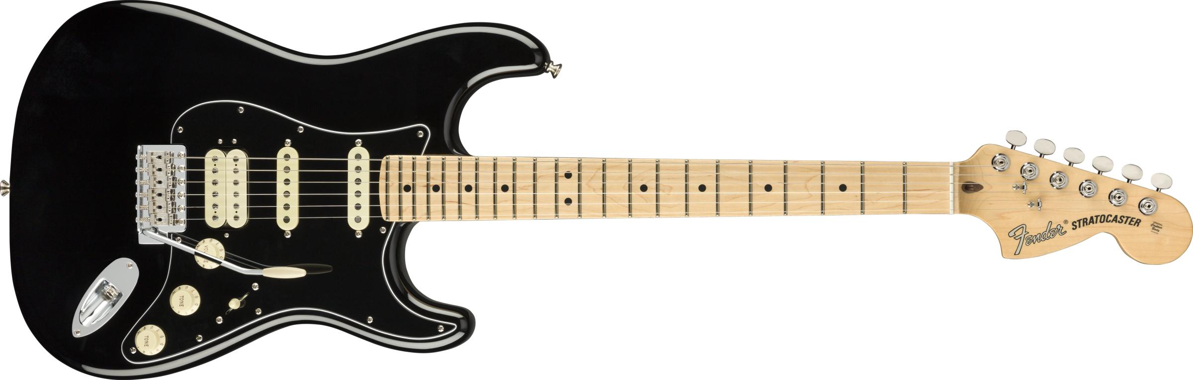 FENDER American Performer Stratocaster HSS, Maple Fingerboard, Black