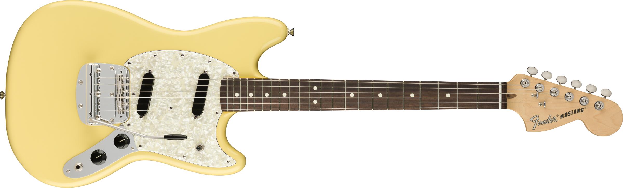 FENDER American Performer Mustang, Rosewood Fingerboard, Vintage White
