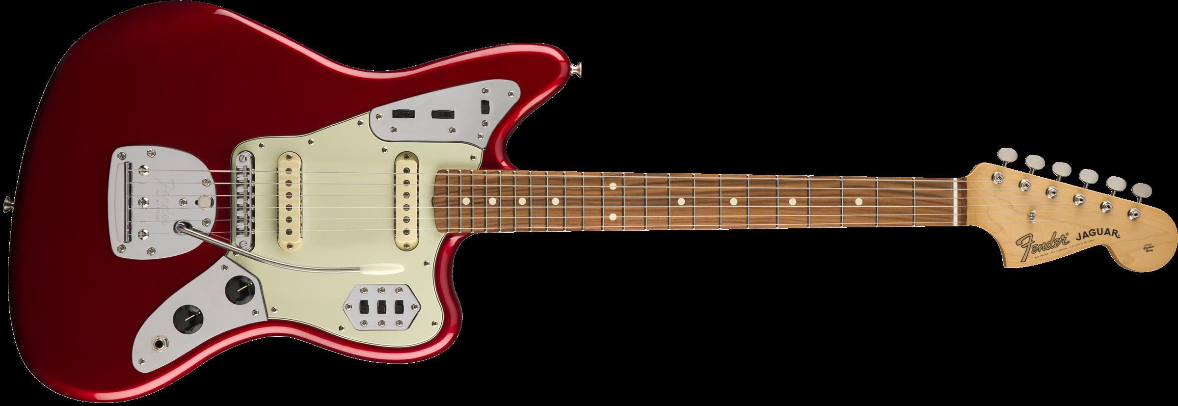 FENDER Classic Player Jaguar Special, Pau Ferro Fingerboard, Candy Apple Red