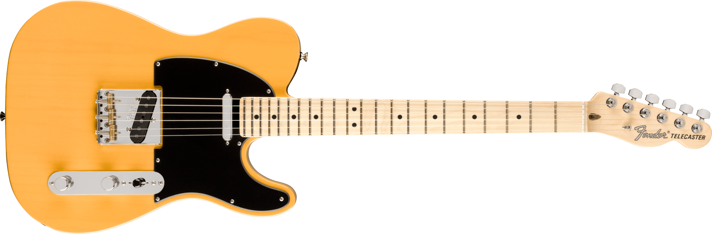 FENDER 2019 Limited Edition American Performer Telecaster, Maple Fingerboard, Butterscotch Blonde