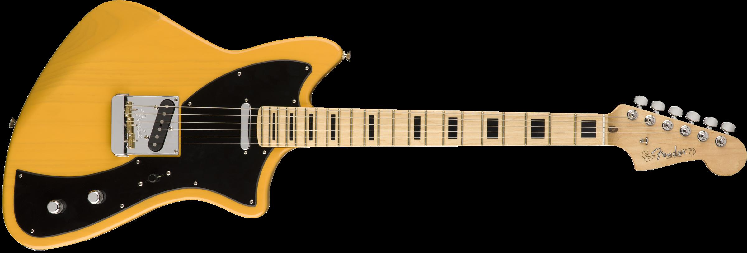 FENDER Limited Edition Meteora, Maple Fingerboard, Butterscotch Blonde