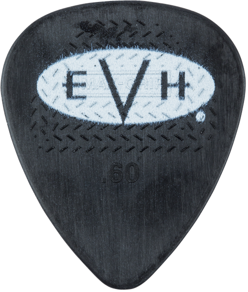 EVH® Signature Picks, Black/White, .60 mm, 6 Count