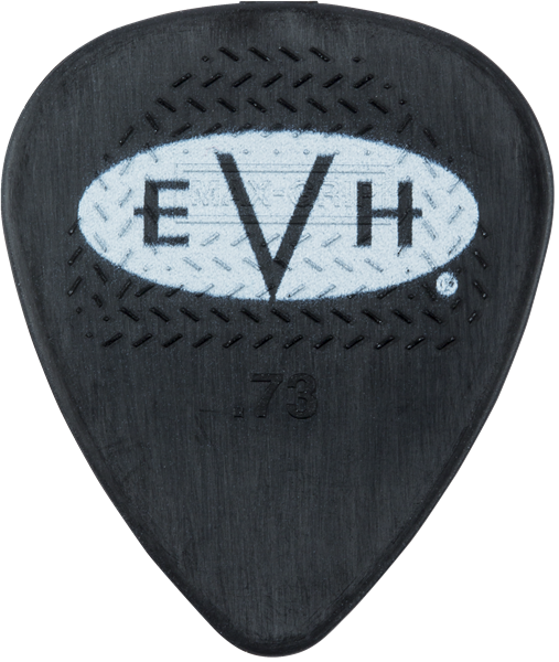 EVH® Signature Picks, Black/White, .73 mm, 6 Count