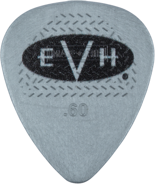 EVH® Signature Picks, Gray/Black, .60 mm, 6 Count