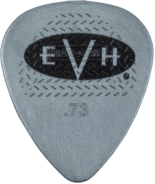 EVH® Signature Picks, Gray/Black, .73 mm, 6 Count