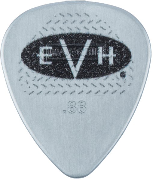 EVH® Signature Picks, Gray/Black, .88 mm, 6 Count