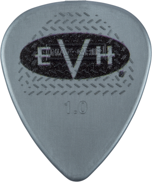 EVH® Signature Picks, Gray/Black, 1.00 mm, 6 Count