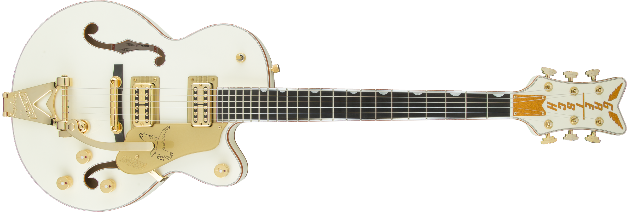 G6112TCB-WF Limited Edition Falcon™ Center Block Jr. with Bigsby®, TV Jones®, Vintage White
