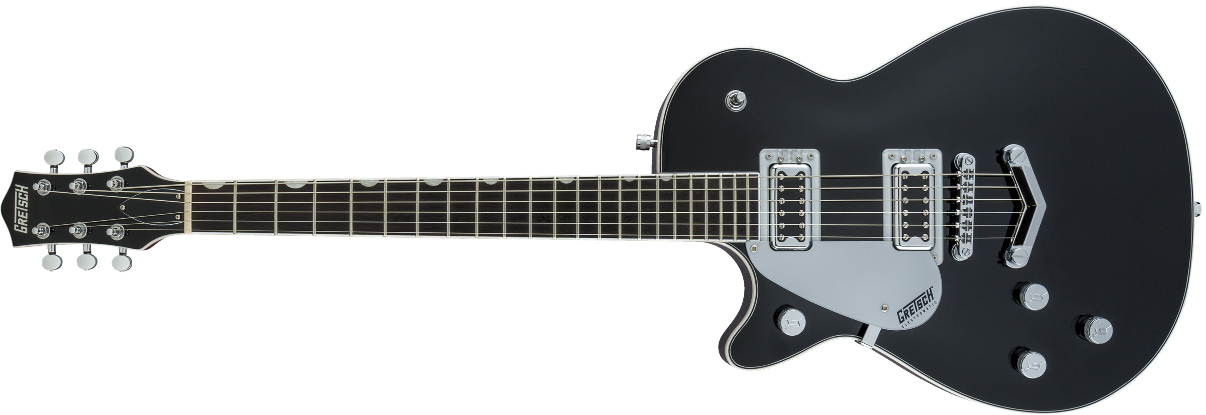 GRETSCH G5230LH Electromatic Jet FT Single-Cut with V-Stoptail, Left-Handed, Black Walnut Fingerboard, Black