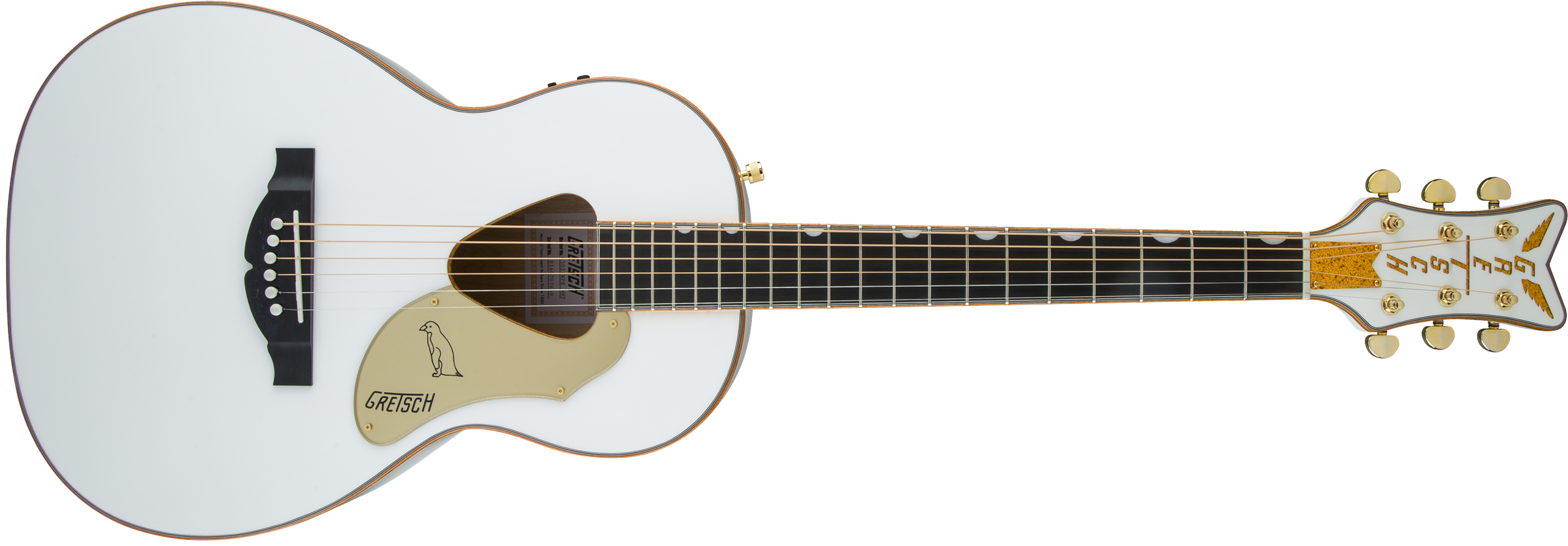 GRETSCH G5021WPE Rancher Penguin Parlor Acoustic/Electric, Fishman Pickup System, White
